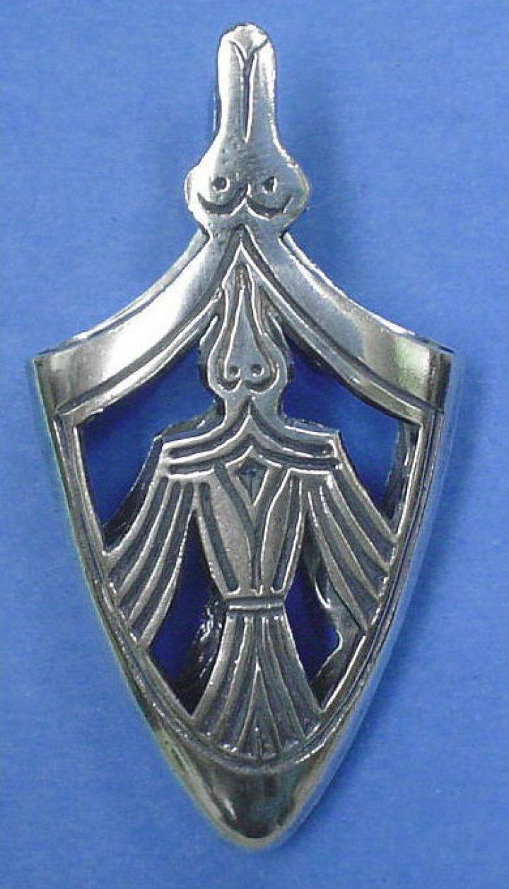 Viking Birka X.A.D. Schede Eindstuk Zilver