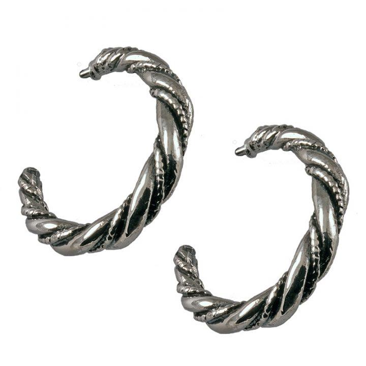 Viking Oorbellen Zilver