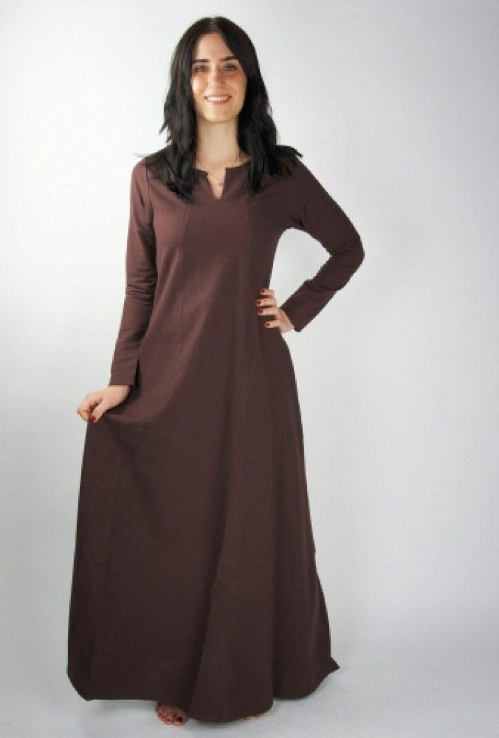 Viking Dames Onderkleed in Bruin
