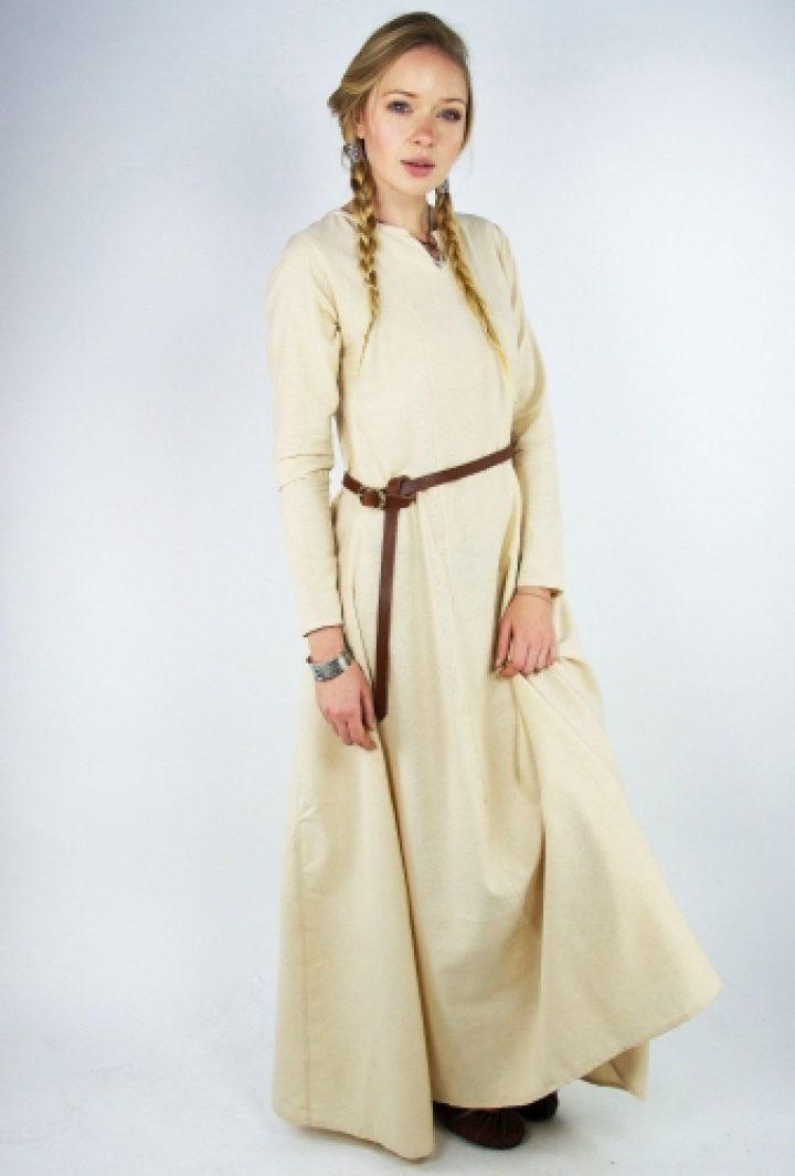 Viking Dames Onderkleed in Natuurkleur