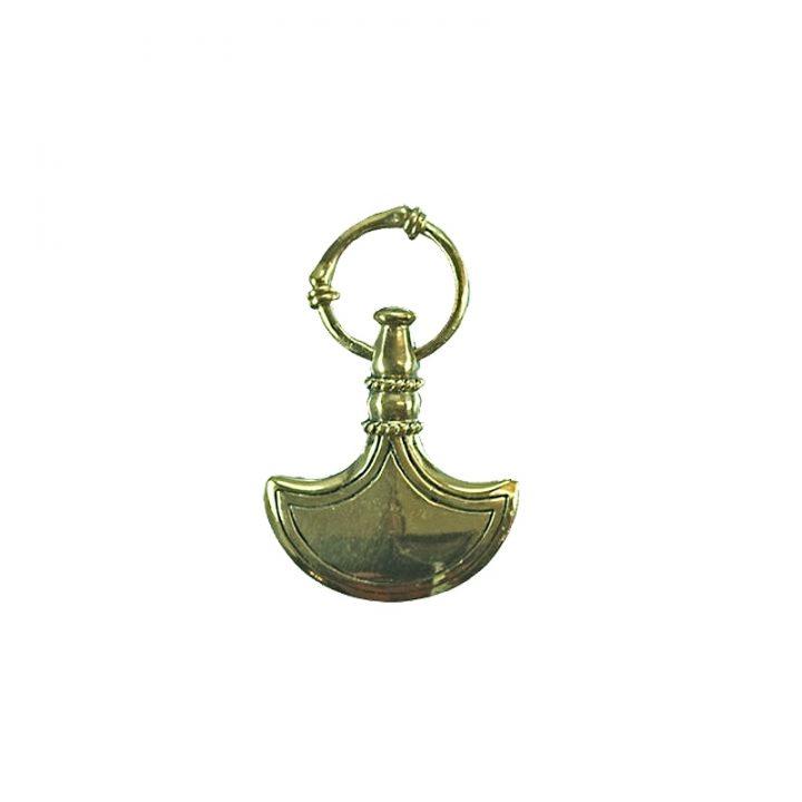 Vikingbijl Hanger Duits Symbool Brons