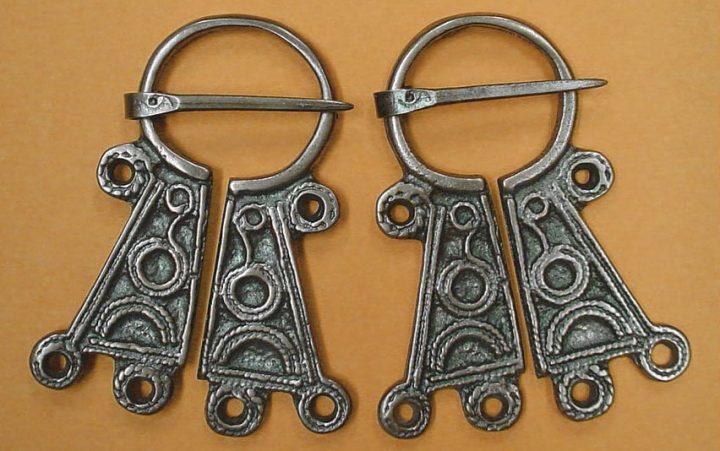 Viking Fibula Brons