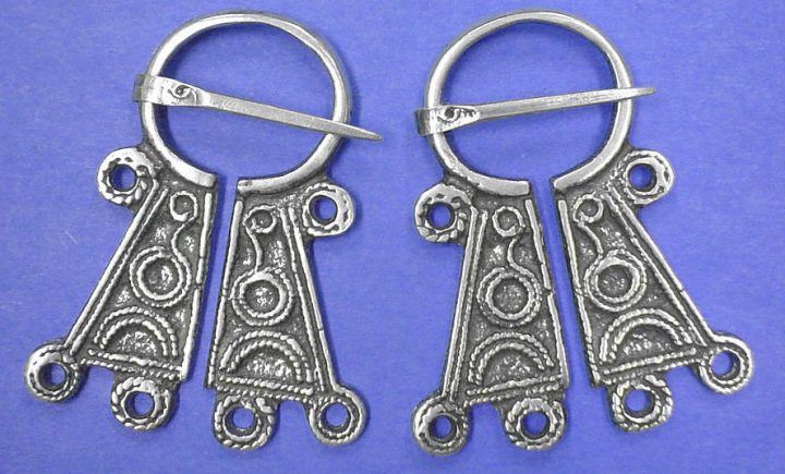 Viking brooches Silber WC081