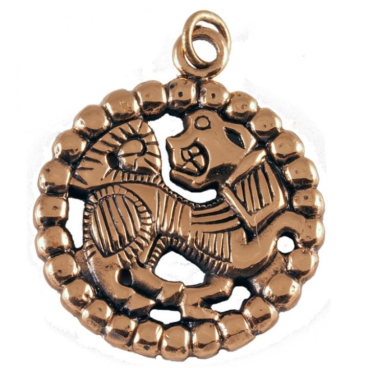 Wikinger Amulett ca.0900n.Ch.Bronze VCVP-87