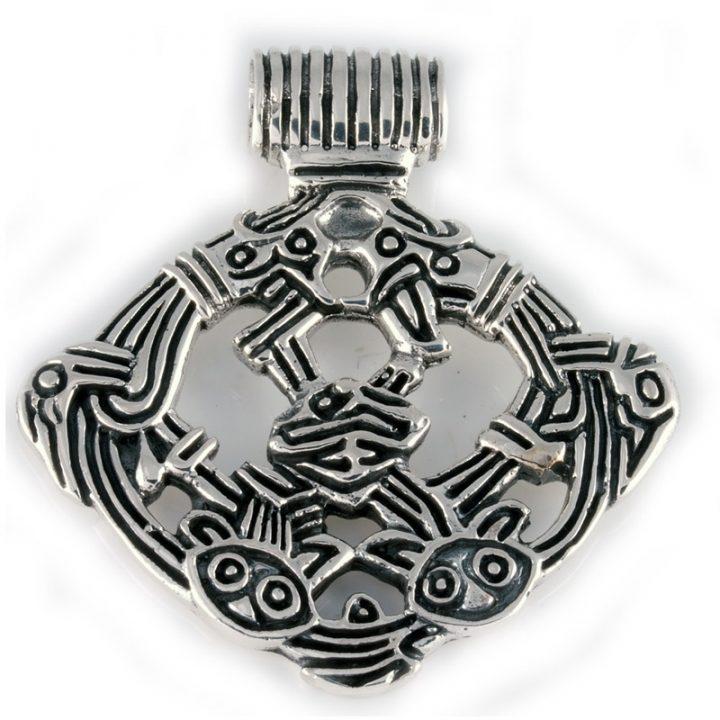 Viking Gripping Beast Zilver