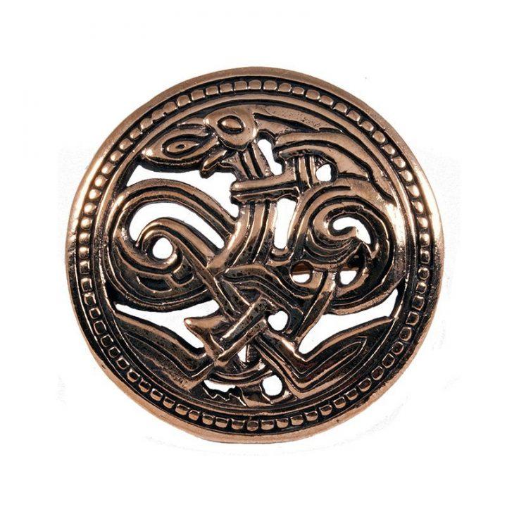 Viking Haithabu Fibula Brons