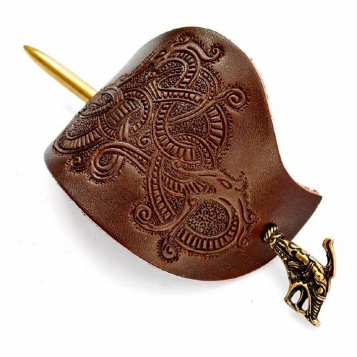 Viking Haithabu Haarspeld Bruin