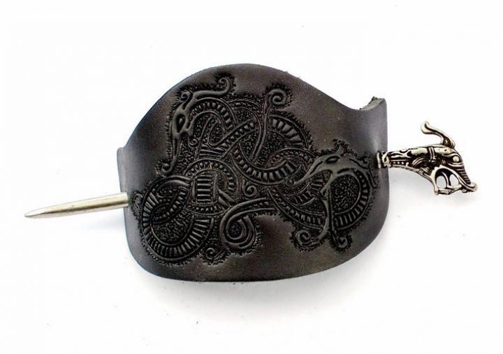 Viking Haithabu Haarspeld Zwart