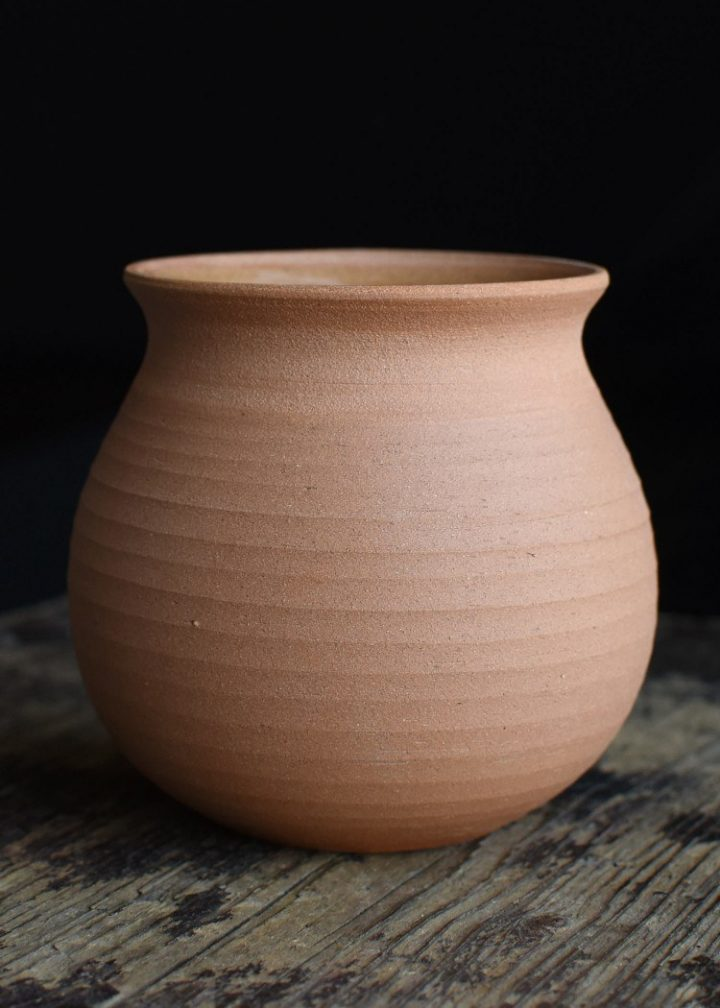 Wikinger Haithabu Becher groß aus Ton, 300 ml.