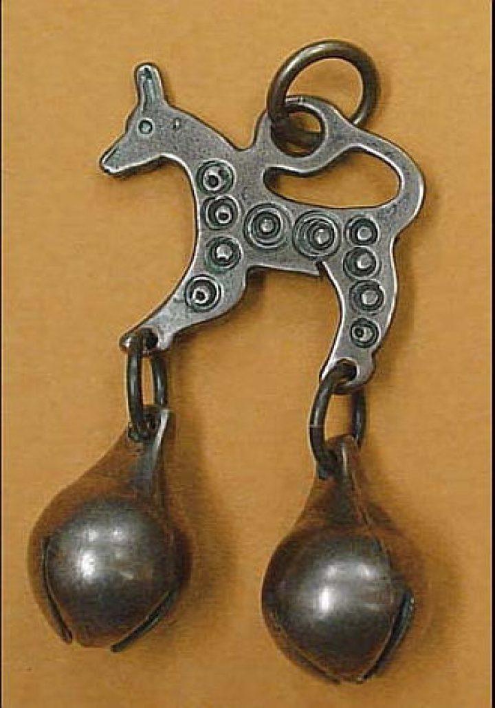 Viking Finougrian Hanger brons