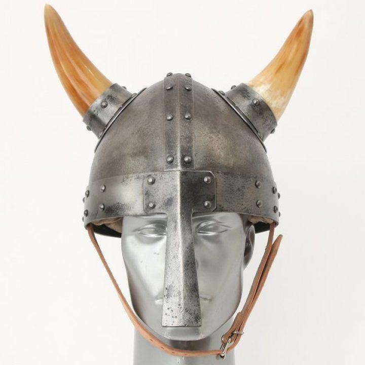 Viking Helm met Horens Ceremonieel