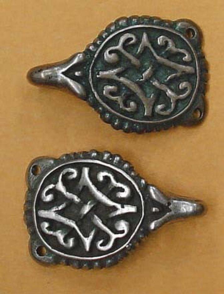 Viking Kleding haak Brons, England, 10e eeuws