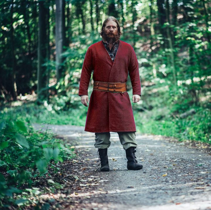 Viking Kaftan in Rood