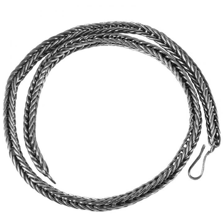 Viking Ketting Zilver 55 cm