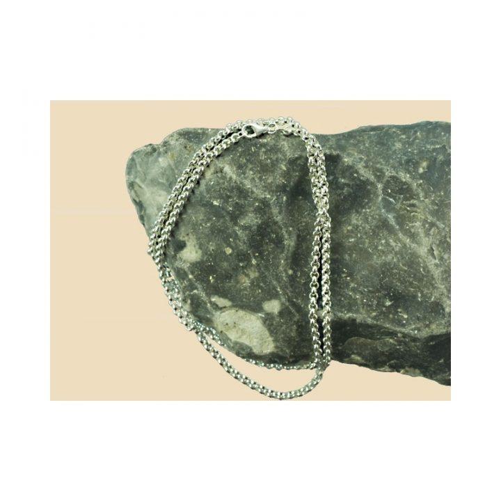Wikinger Erbskette Silber 50 cm lang