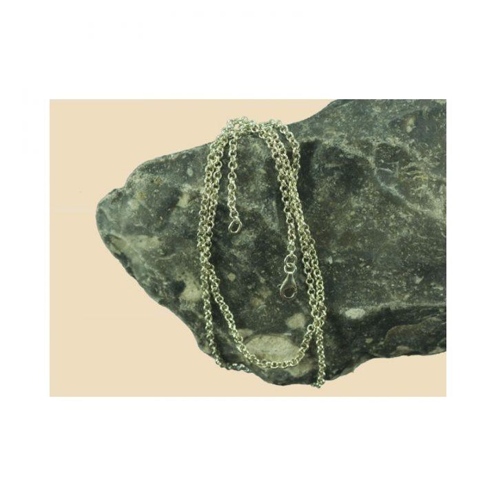 Viking Ketting Zilver 60 cm