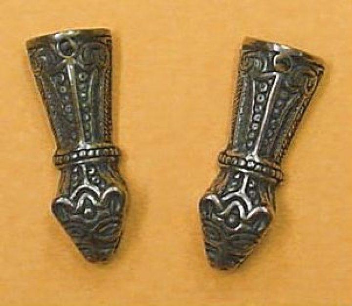 Viking Ketting Eindstuk Brons