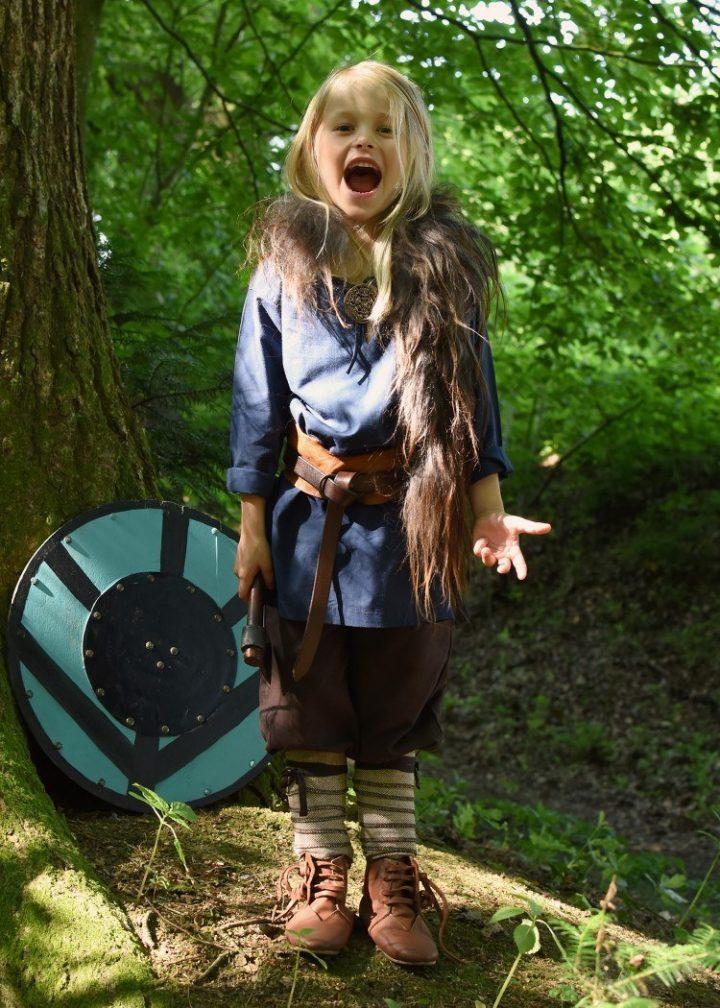 Viking Kinder Beenwikkel set Bruin