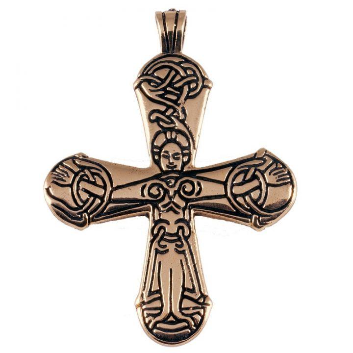 Viking Kruis Brons