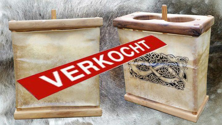 Viking Lantaarn Handbeschilderd
