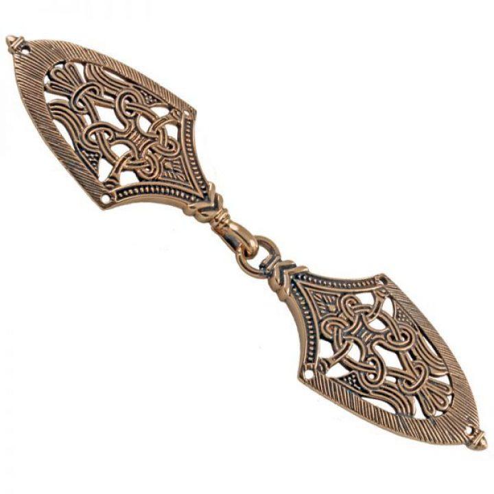 Viking Mantelsluiting in Brons