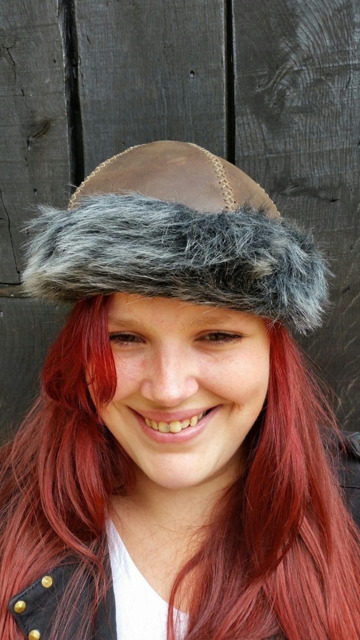 Viking - Mongolen - Hunnen Muts maat 58