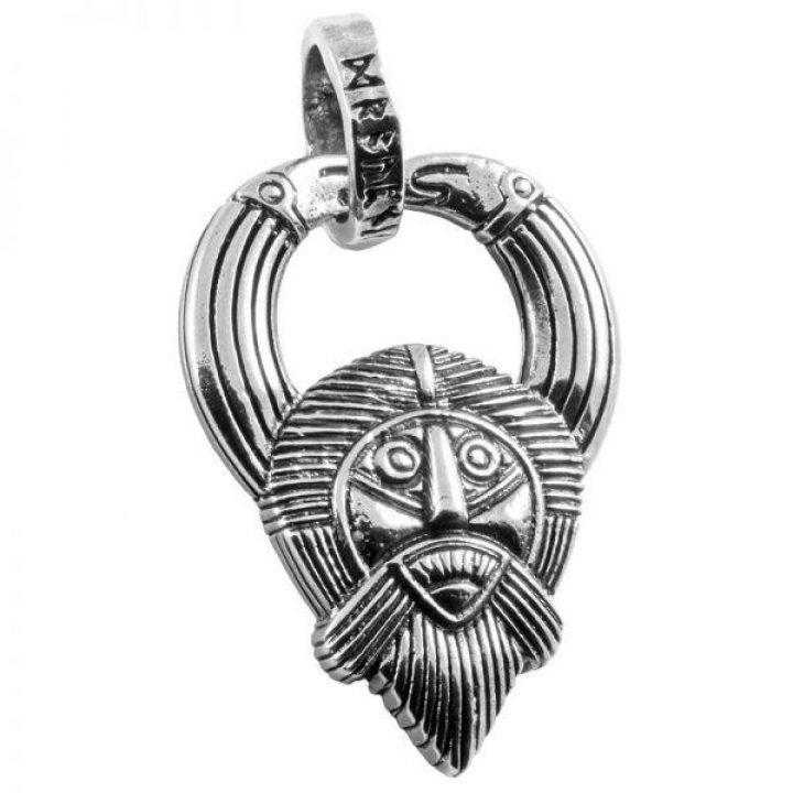 Viking Odin Hanger in Zilver