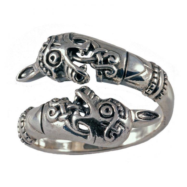 Viking Osenberg Ring Zilver Klein
