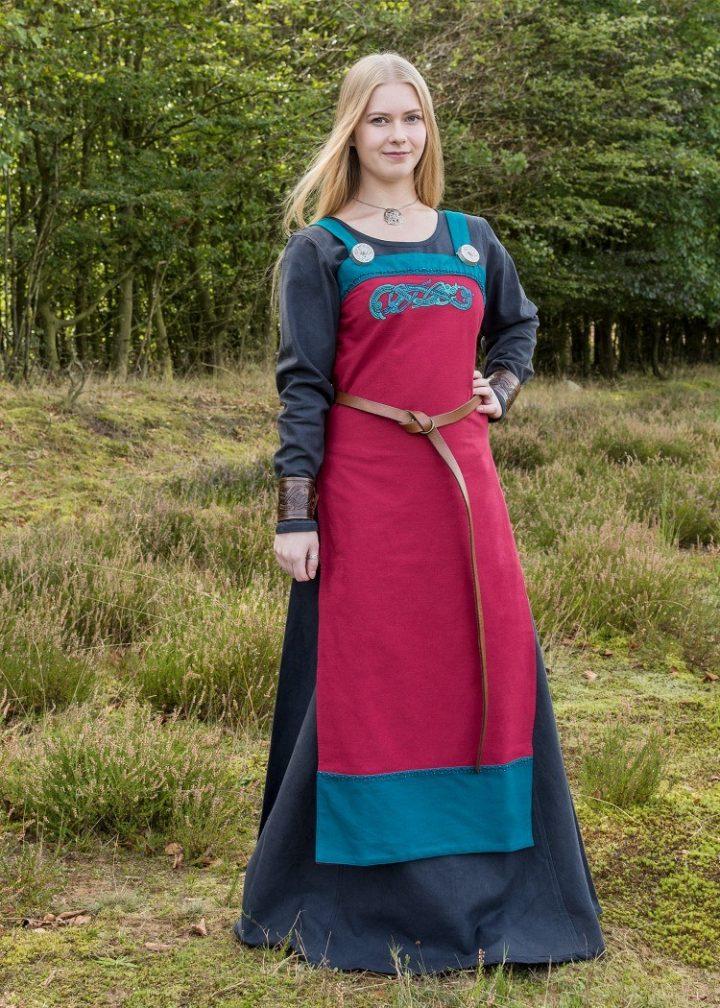Viking Overjurk rood-blauw