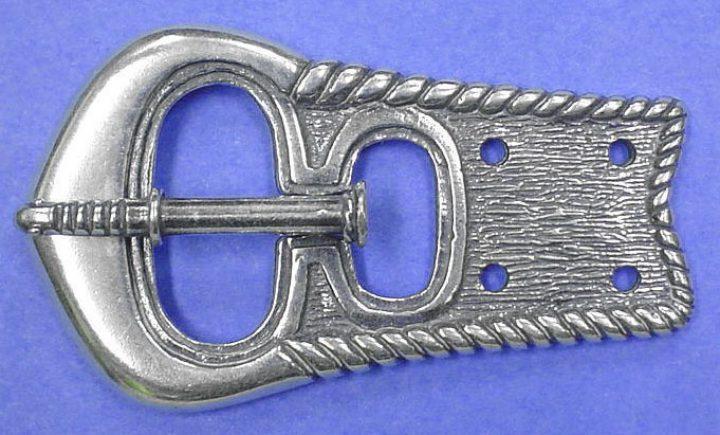 Viking Riemgesp Zilver, Finougrian, 9-10e eeuws