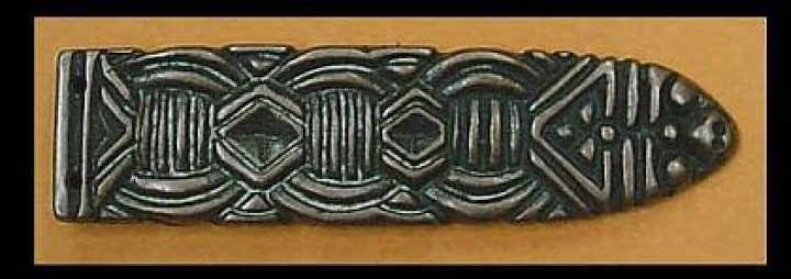 Viking strap end, Norway, 10th c. WC153B