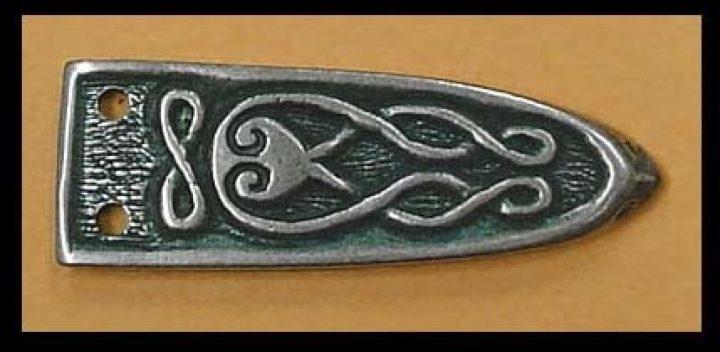 Viking riemtong Brons, Finougrian, 10e eeuws