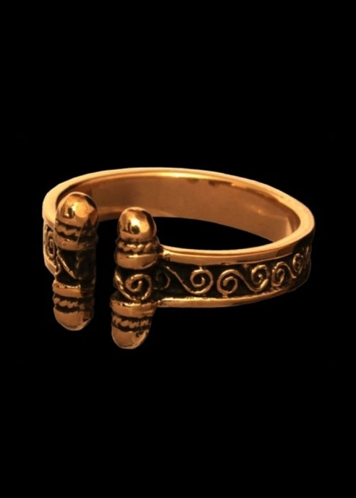 Viking Ring Brons