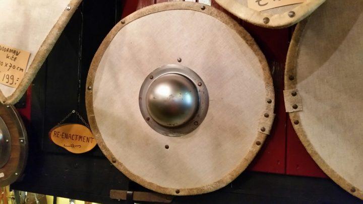 Viking Rondschild Genageld 60 cm