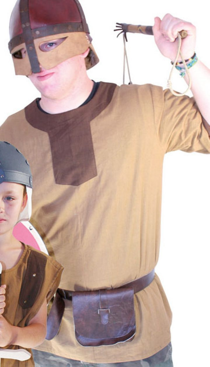 Kinder Viking Shirt maat 140