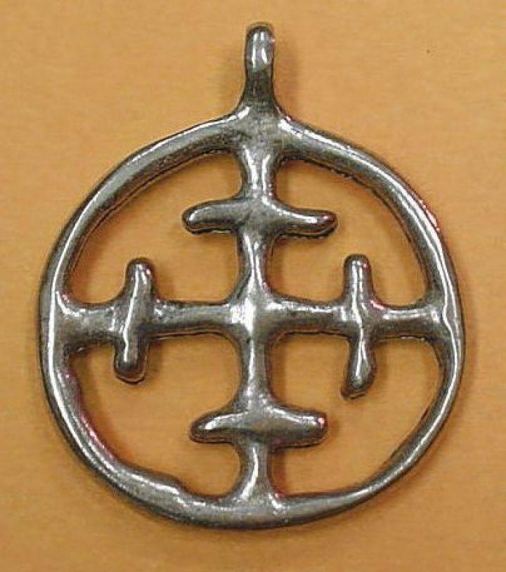 Viking Slavische Hanger brons Polen 11e eeuws