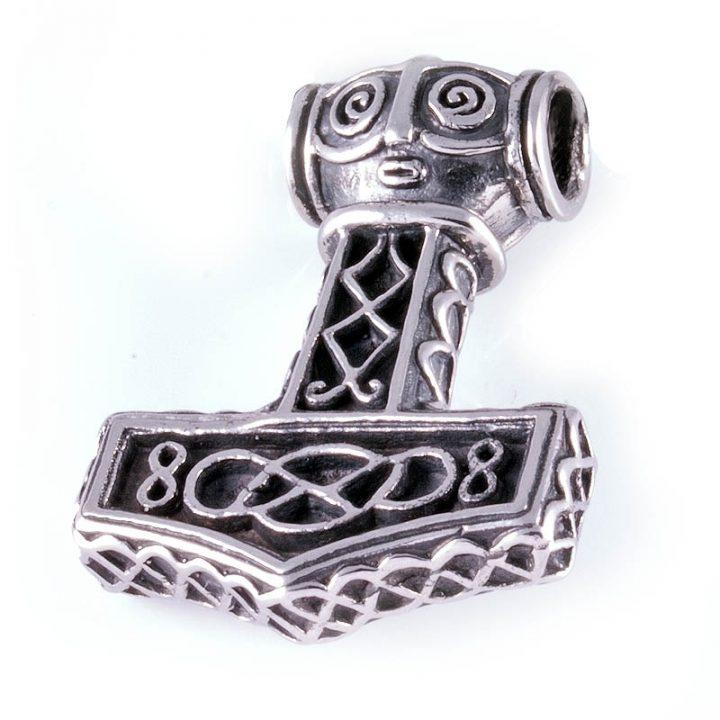 Viking Thor-hamer Edelstaal