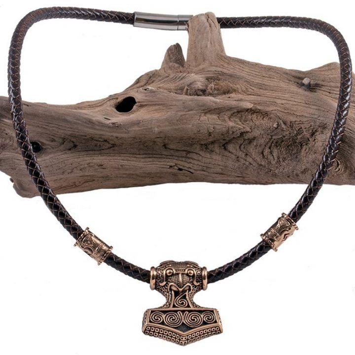 Viking Hanger Thorhammer Brons