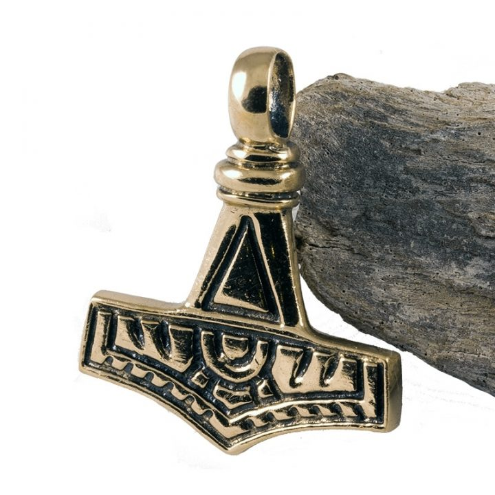 Wikinger Schonenhammer Anhanger Bronze