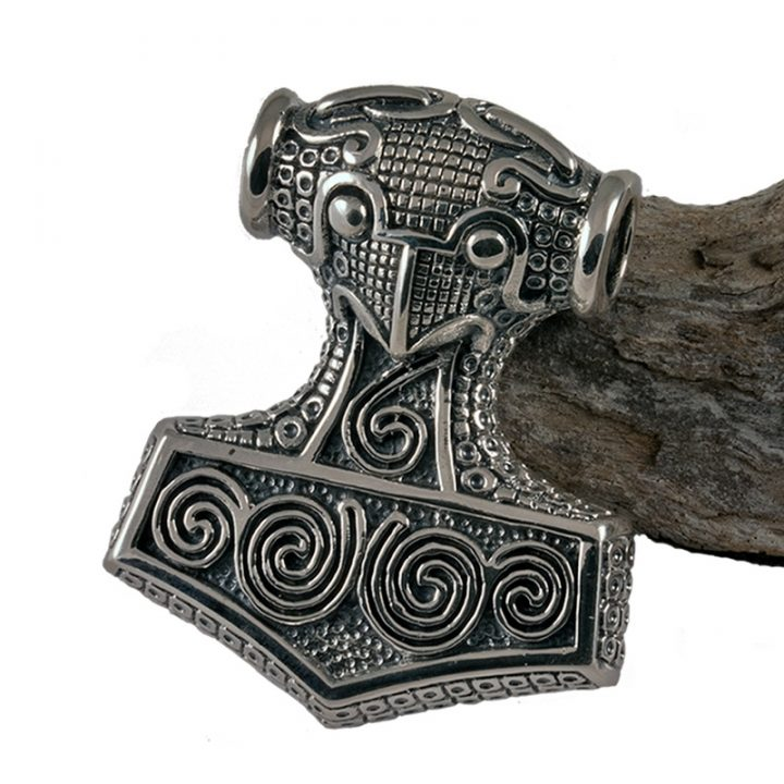 Viking Thor-hamer zilver