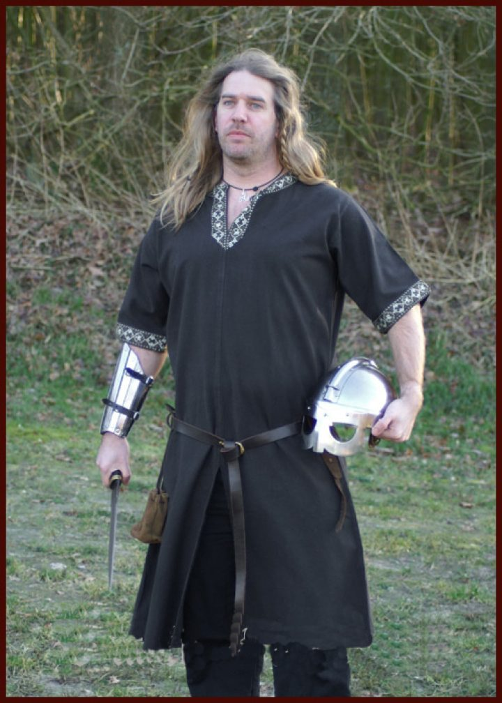 Viking Tuniek in Zwart