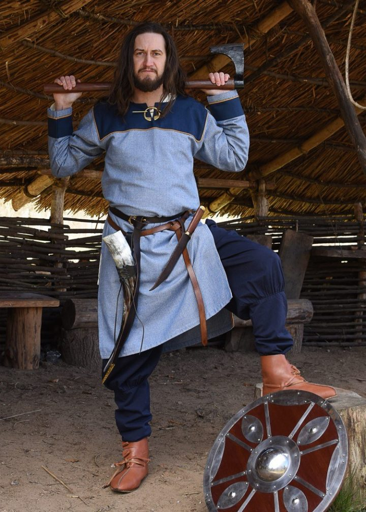 Viking Tuniek in Blauw