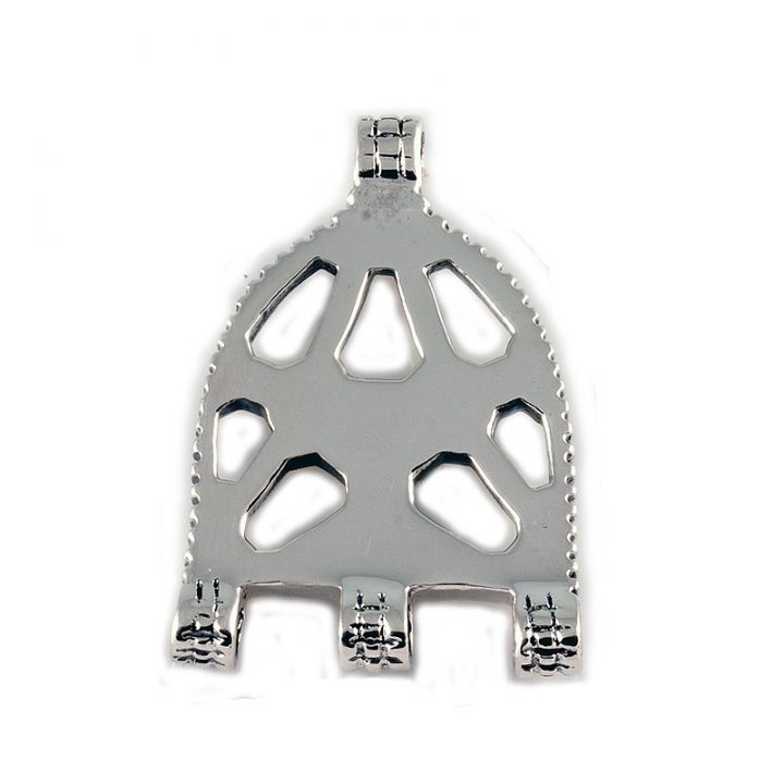Verteiler Platte Silber VCVP-81