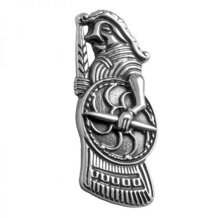 Viking Walküre Hanger in Zilver