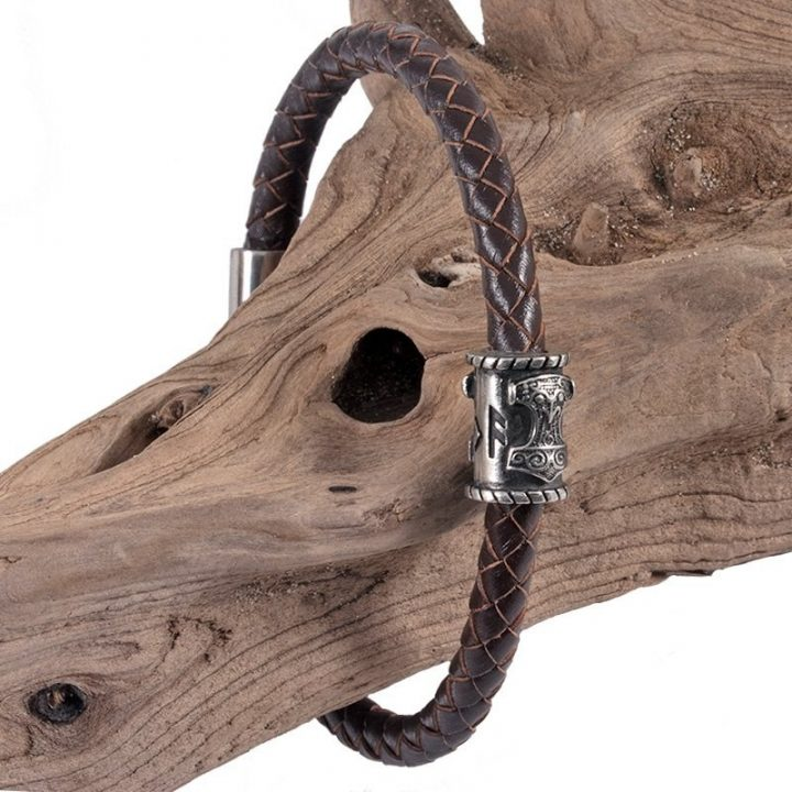 Viking Armband Thorshammer Tin Groot
