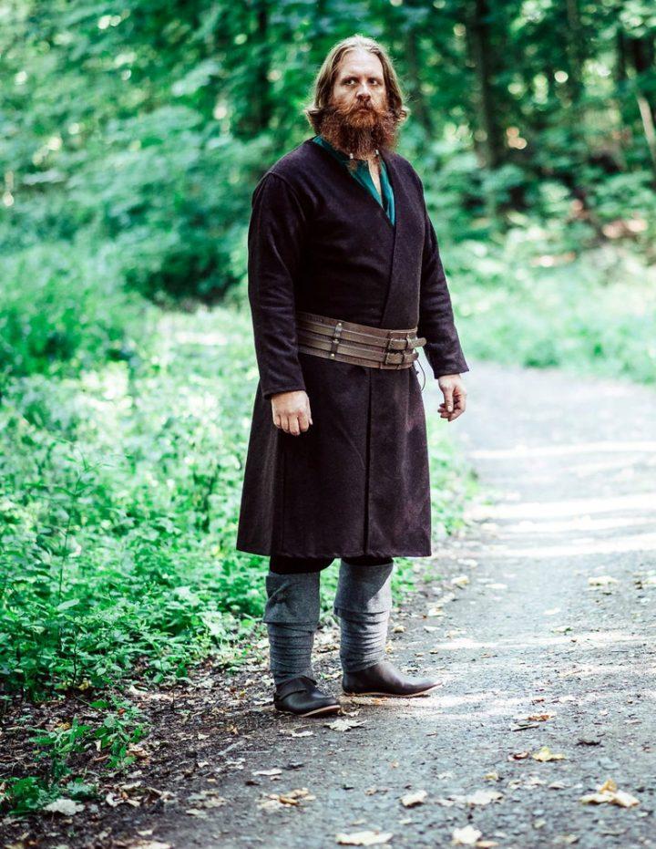 Viking Kaftan in Bruin