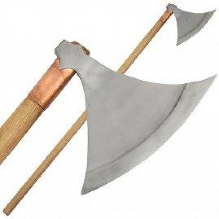 Viking replica Strijdaxe uit rond 1030