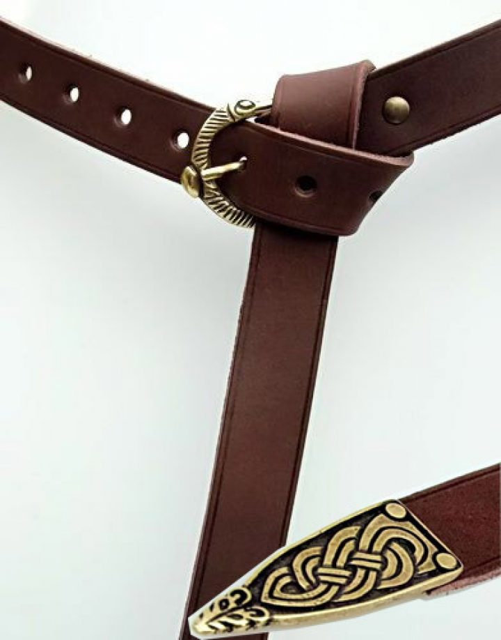Viking riem bruin 3 cm