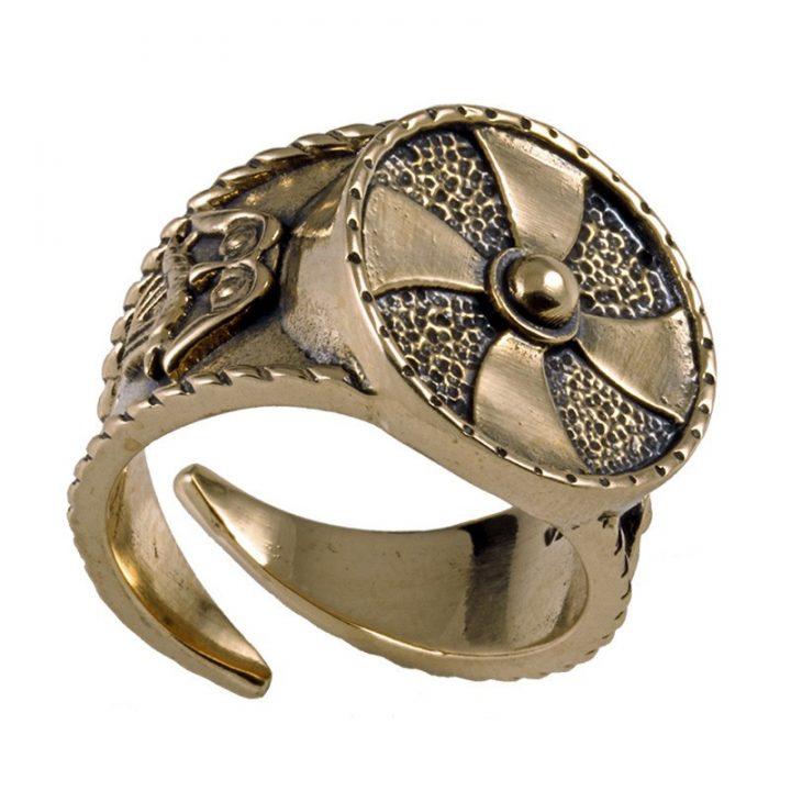 Wikinger Ring Klein Bronze