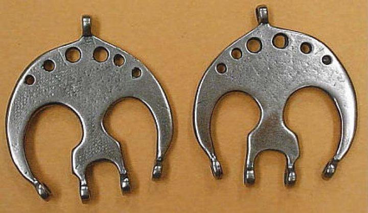Ovaal Fibula Verdeelhaak Brons
